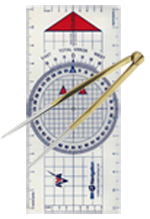 RYA Day Skipper online course Plotter and Dividers